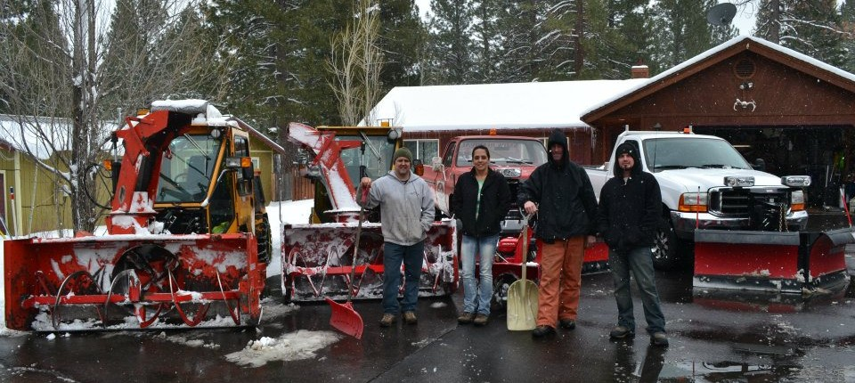 Truckee Tahoe snow removal