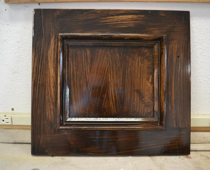Tahoe Truckee wood staining and distressing